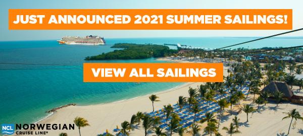 Norwegian Cruise Line Summer 2021