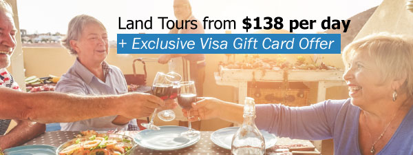 Land Tours from $138 per day