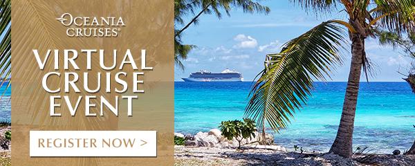 Oceania Cruises Virtual Event