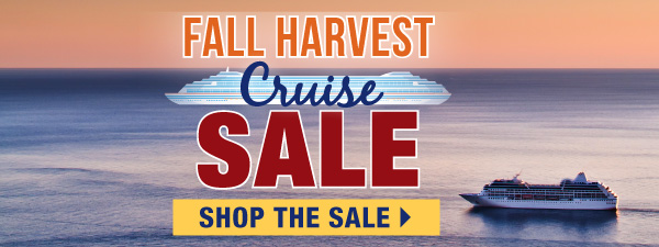 Fall Harvest Cruise Sale