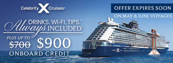 Celebrity Cruises Extra Onboard Credit Offer Ends Soon!