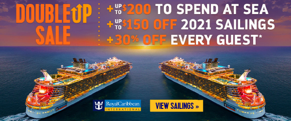 Royal Caribbean - Double Up Sale