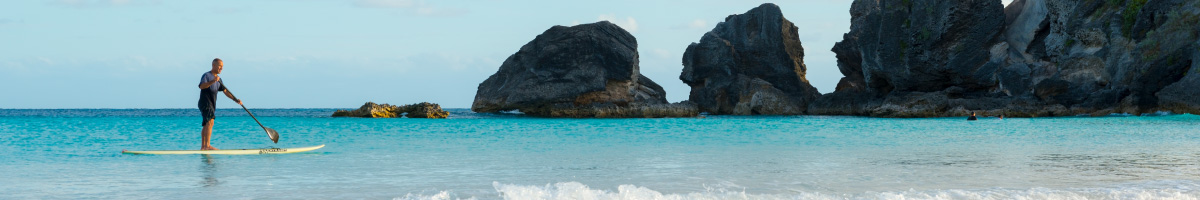 Horseshoe Bay, Bermuda (Paddleboard)