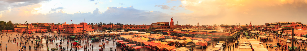Market in Marrakech, Morocco