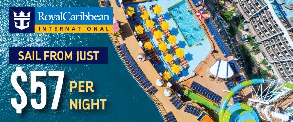 Sail Royal Caribbean from Just $57 per night!
