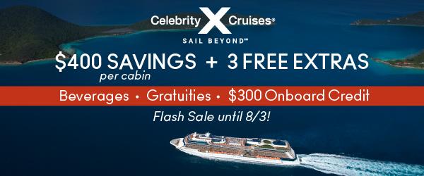 Celebrity Cruises - 5 Day Sale!