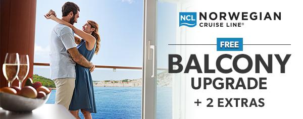 Norwegian Cruise Line Free Balcony Upgrade