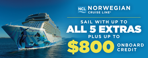 Onboard Credit + All 5 Extras!