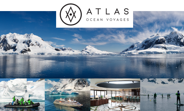 Atlas Ocean Voyages Antarctica Voyages with Free Private Jet Charter